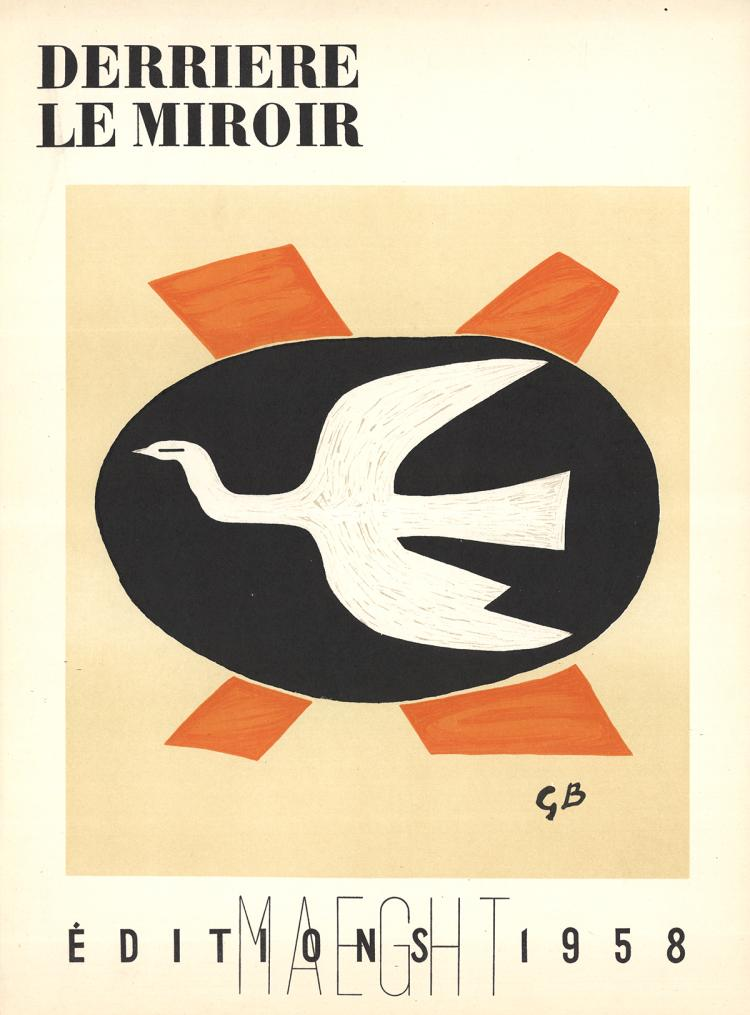 Georges Braque - DLM No.112 Cover - 1958