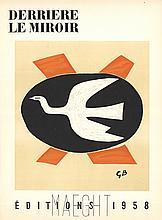 Georges Braque - DLM No.112 Cover - 1958