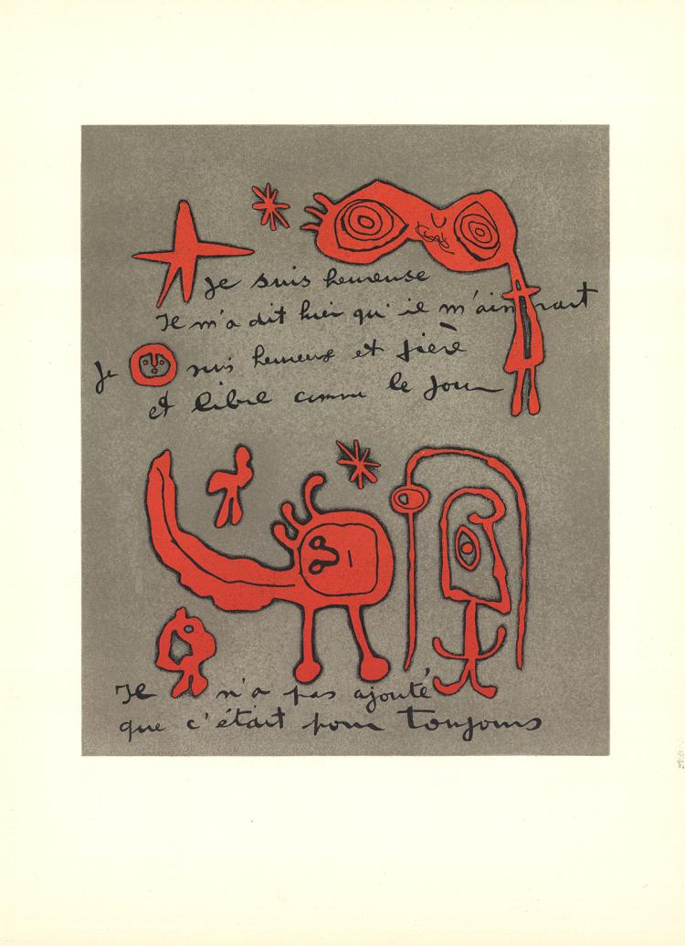 Joan Miro - DLM No.112 Page 13 - 1958