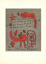 Joan Miro - DLM No.112 Page 13 - 1958