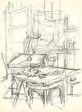 Alberto Giacometti - DLM No.112 Page 14 - 1958