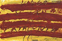 Antoni Tapies - DLM No. 200 Cover - 1972