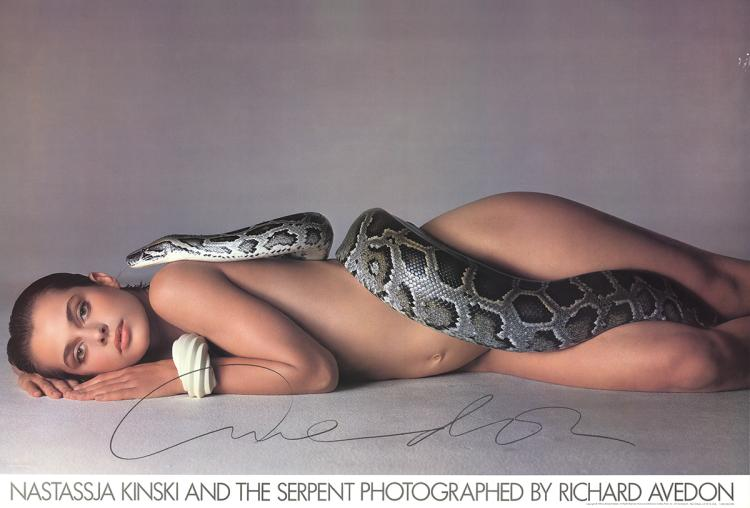 Richard Avedon - Nastassja Kinski and the Serpent - 1981 - SIGNED