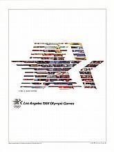Robert Rauschenberg - Los Angeles Olympics 1984 - 1995
