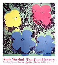 Andy Warhol - Ten Foot Flowers - 1996