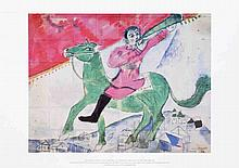 Marc Chagall - The Rider - 1993
