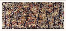 Jackson Pollock - Blue Poles - 2014