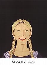 Alex Katz - Jessica Smiles - 2014