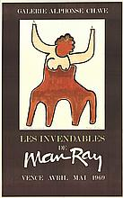 Man Ray - La Minotaure - 1969 - SIGNED