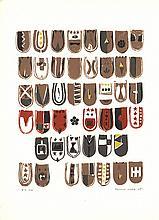 Yukihisa Isobe - Crests Series - 1965 - SIGNED