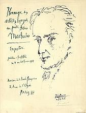 Pablo Picasso - Machado - SIGNED