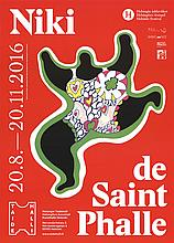 Niki de Saint Phalle - Leaping Nana - 2016