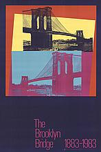 Andy Warhol - Brooklyn Bridge Centennial - 1983