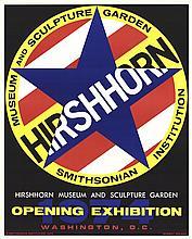 Robert Indiana - Hirshhorn - 1974