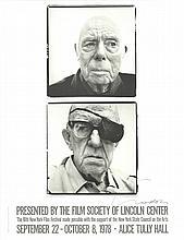 Richard Avedon - 16th New York Film Festival - 1978 - SIGNED