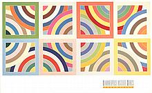 Frank Stella - Tahkt-1-Sulayman Variation II - 1989