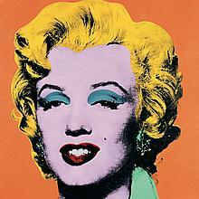 Andy Warhol - Marilyn Orange (Lg) - 1989