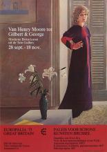 David Hockney - Van Henry Moore tot Gilbert & George - 1973