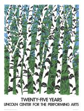 Neil Welliver - Birches - 1984