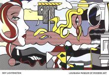 Roy Lichtenstein - Figures in Landscape - 2016