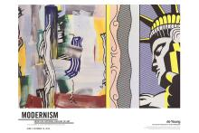 Roy Lichtenstein - Painting with Statue of Liberty - 2014