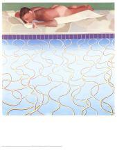 David Hockney - Sunbather - 1970