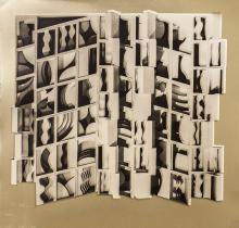 Louise Nevelson - Untitled (Gold) - 1974
