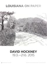 David Hockney - Woldgate, 6-7 May from The Arrival of Spring in 2013 - 2015