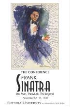 Leroy Neiman - Frank Sinatra at Hofstra University - 1998