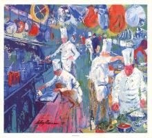 Leroy Neiman - La Grande Cuisine - 1977