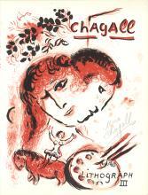 Marc Chagall - Lithographe III