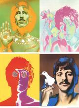 Richard Avedon - The Beatles (Set of 4) - 1967