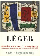 Fernand Leger - Musee Cantini - 1966