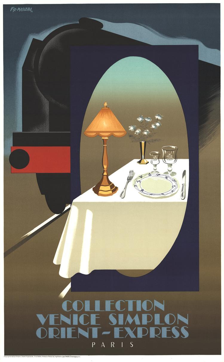 Pierre Fix-Masseau - Orient - Express