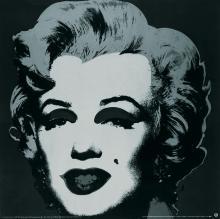 Andy Warhol - Marilyn Black #24 - 1989
