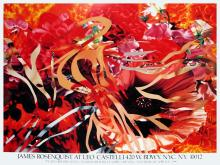 James Rosenquist - Pearls Before Swine, Flowers before Flames - 1990