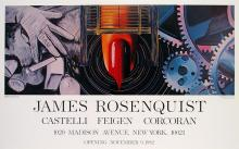 James Rosenquist - While the Earth revolved at night - 1982