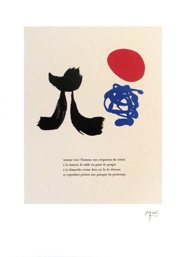 Joan Miro - Illustrated Poems-