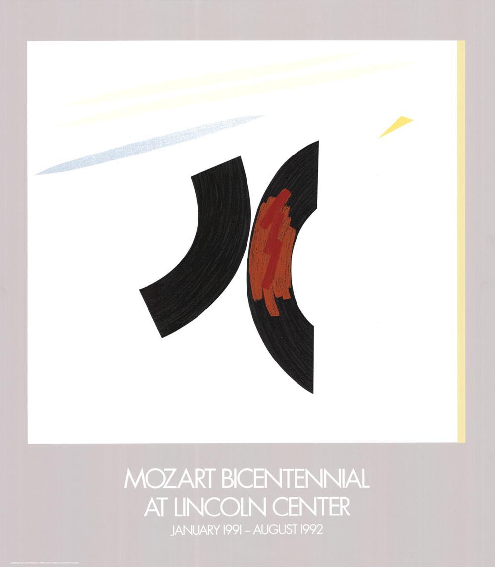 Judith Murray-Mozart Bicentennial-1991 Serigraph