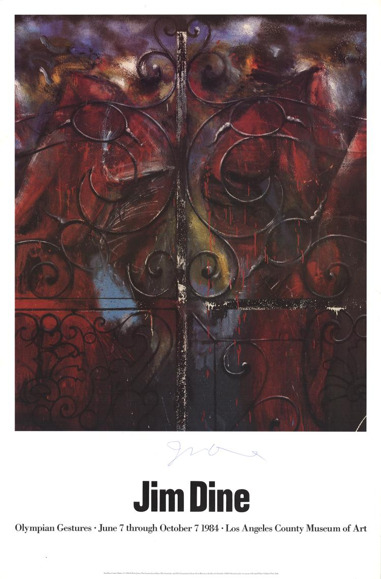 Jim Dine - Detail from the Crommelynck Gate (The Sentinels) - 1983 - SIGNED