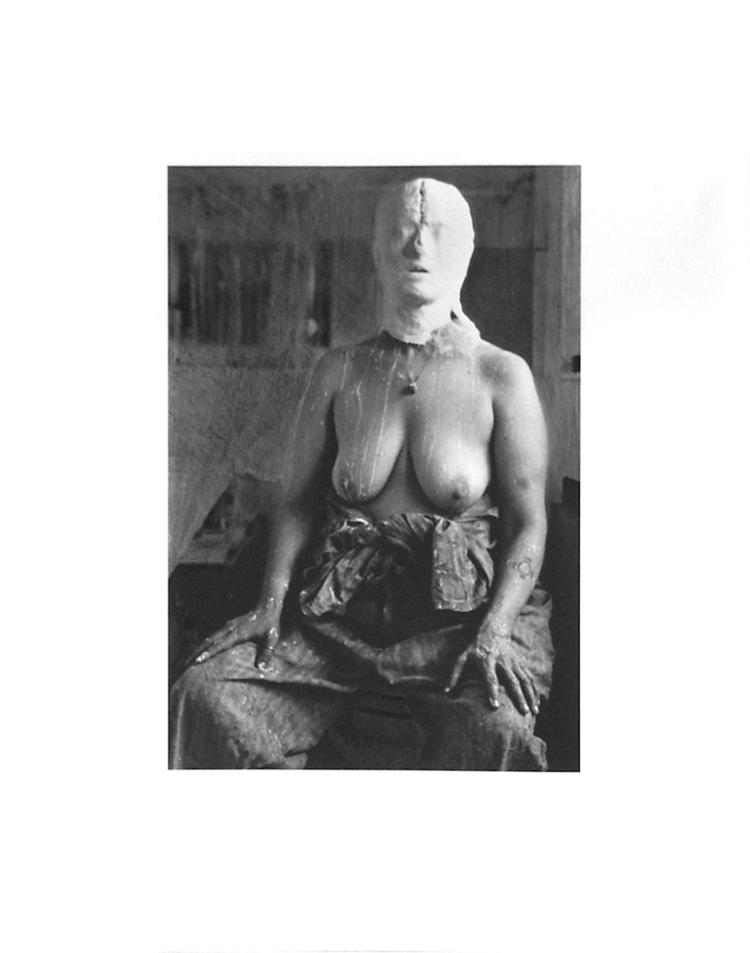 Kiki Smith - Face In Plaster - 1996 - SIGNED
