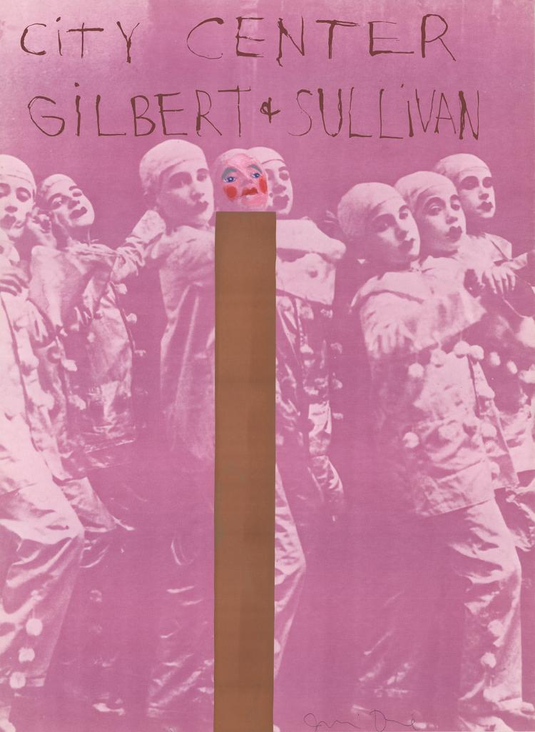 Jim Dine - Gilbert And Sullivan - SIGNED