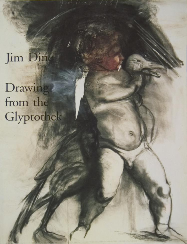 Jim Dine Drawing from the Glyptothek - 1993 - SIGNED