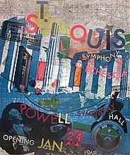 Robert Rauschenberg - St. Louis Symphony Orchestra - 1968 - SIGNED