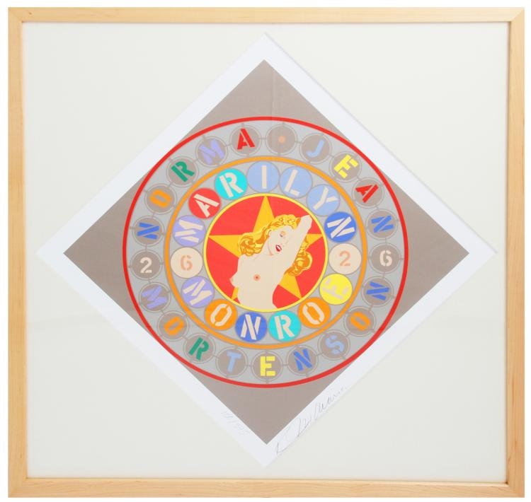 Robert Indiana - The Metamorphosis of Norma Jean Mortenson - 1997 - SIGNED