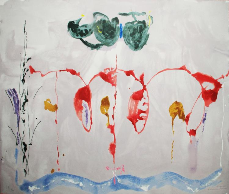 Helen Frankenthaler - Aerie - 2009 - SIGNED