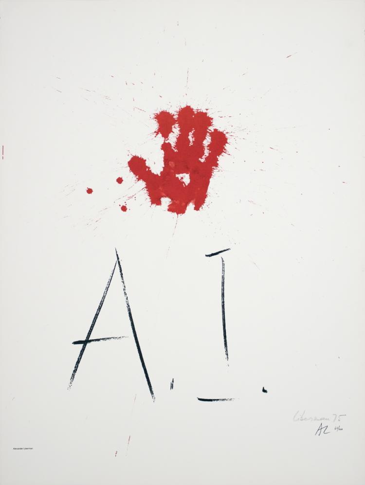 Alexander Liberman - Amnesty International - 1976 - SIGNED