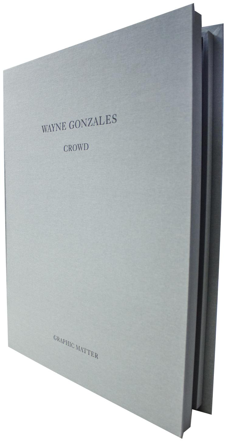 Wayne Gonzales - CROWD - 2014 - SIGNED