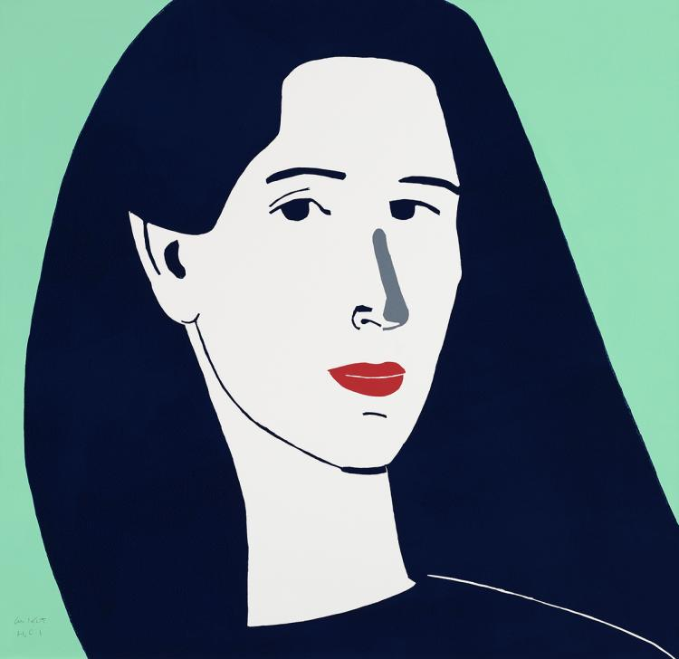 Alex Katz - Diana - 2014 - SIGNED