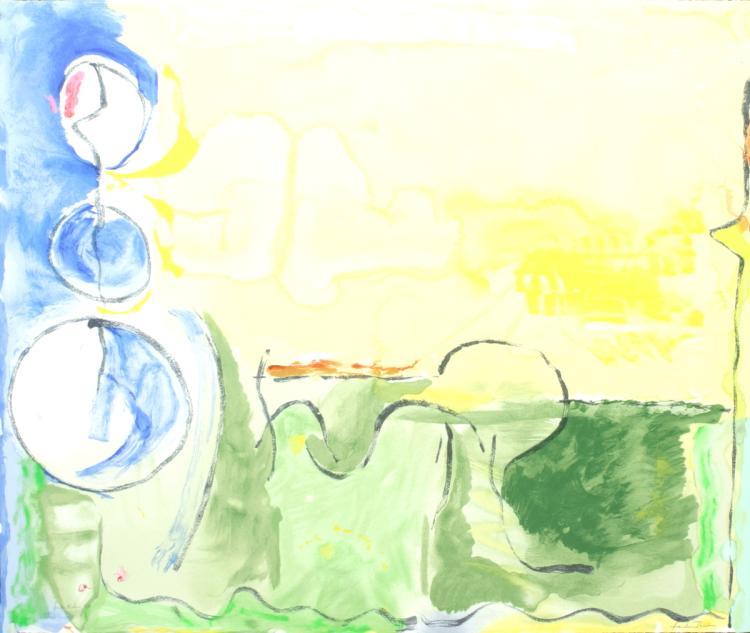 Helen Frankenthaler - Flotilla - 2006 - SIGNED